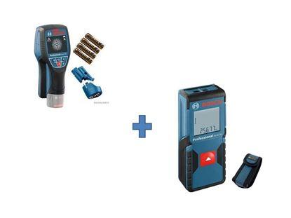 Снимка на Детектор Скенер за стени D-tect 120 Professional+лазерна ролетка GLM 30 Professional