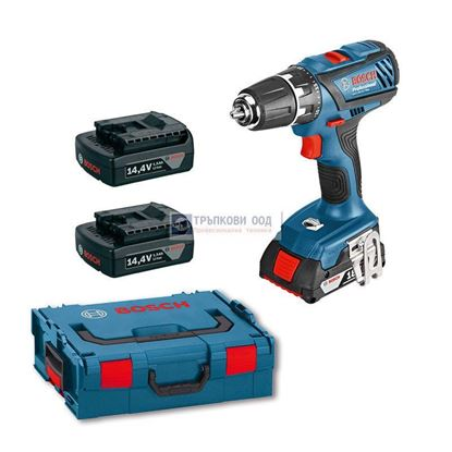 Снимка на Акумулаторен винтоверт Bosch GSR 14,4-2-LI Plus Professional ( 3 батерии х 1.5 Ah )