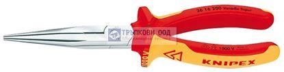 Снимка на Клещи с издължени челюсти и режещ ръб KNIPEX 200 VDE