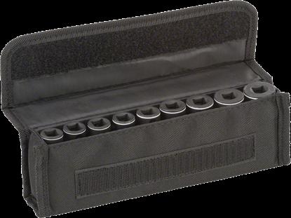 """Снимка на  Комплект вложки за глух ключ, 9 части;63 mm; 7, 8, 10, 12, 13, 15, 16, 17, 19 mm;3/8""""; 2608551099"""