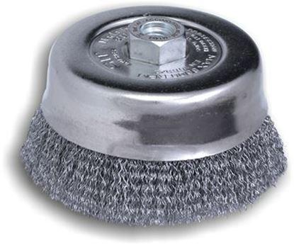 Снимка на Телена четка за ъглошлайф Т120,M14,8500rpm,0,35mm,S30 ;147